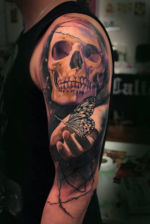Amazing Skull Tattoos by Igoryoshi