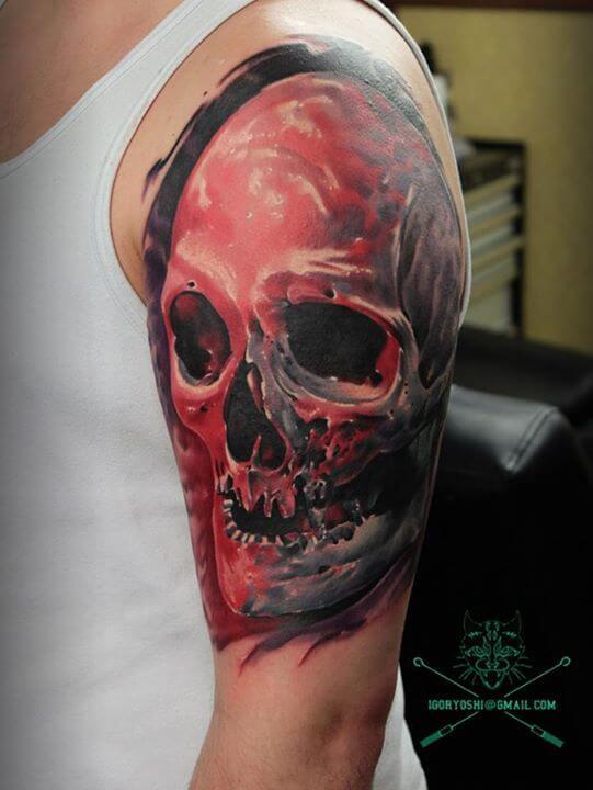 Arm Tattoo by Igoryoshi (2)