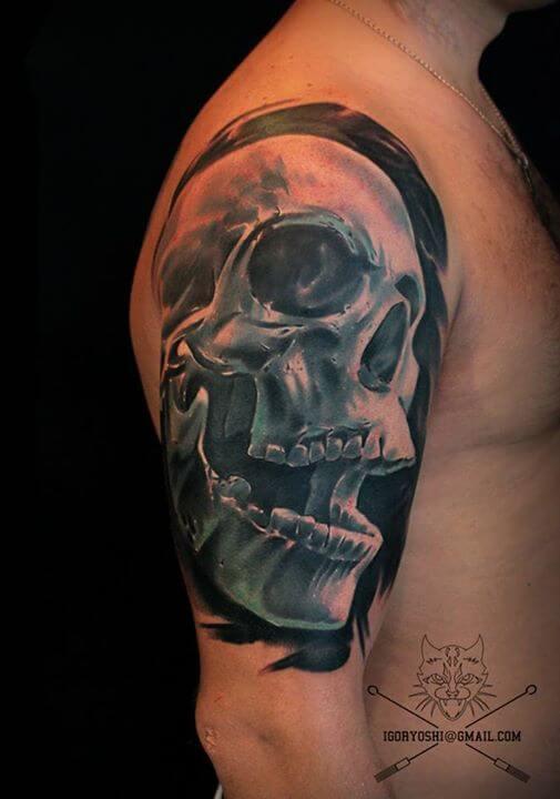 Arm Tattoo by Igoryoshi
