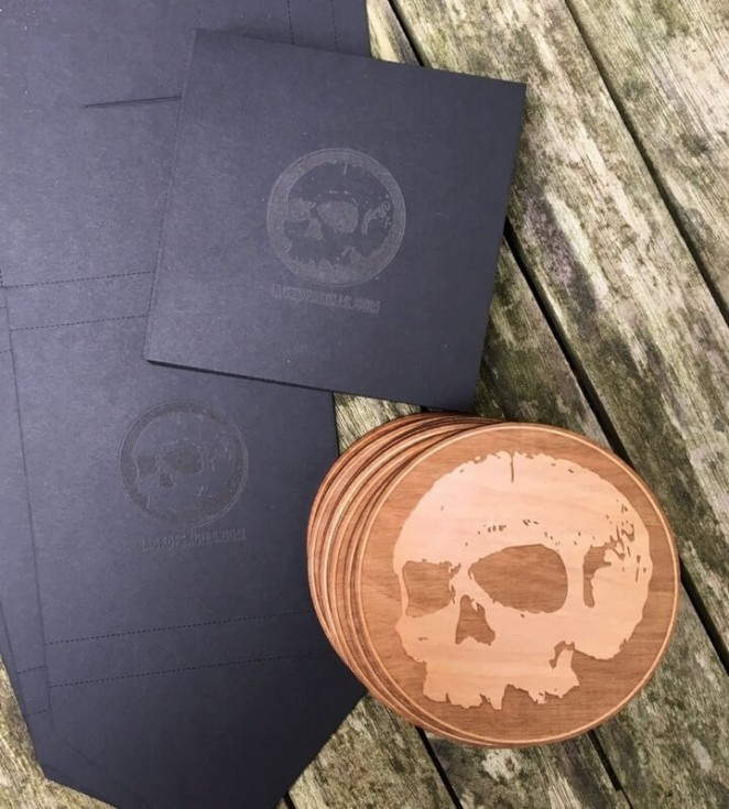Coaster Set by Jack of Skulls