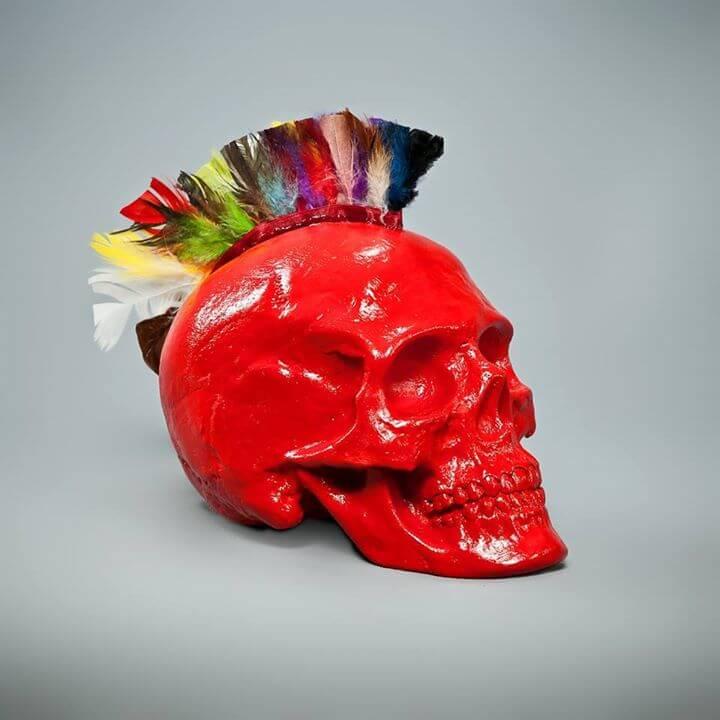 Handmade Skull Skull.A (4)