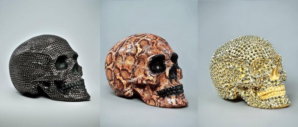 Handmade Skulls from Skull.A