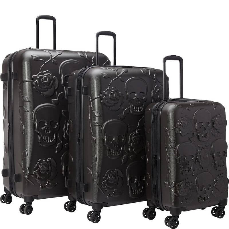 IT Luggage Skull Set (2)