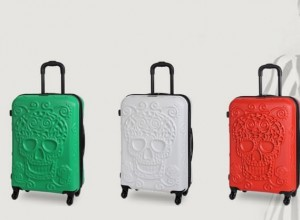 IT Luggage Skull Set