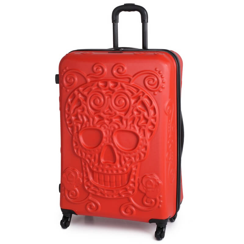 IT Luggage Skull