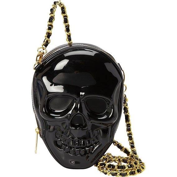 Loungefly 3D Molded Skull CrossBody Bag