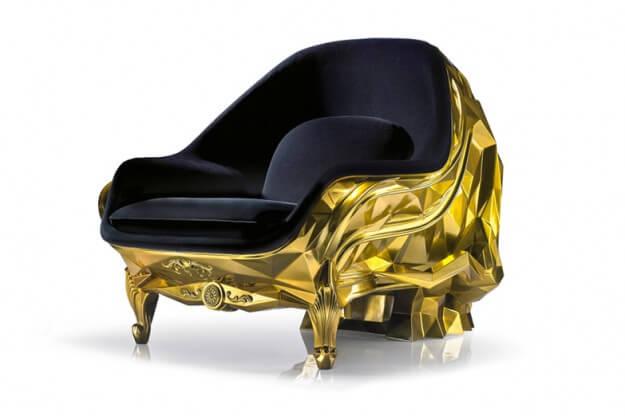 Gold Skull Armchair (3)