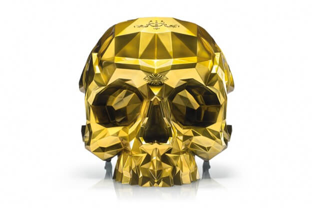 Gold Skull Armchair from Harow (2)