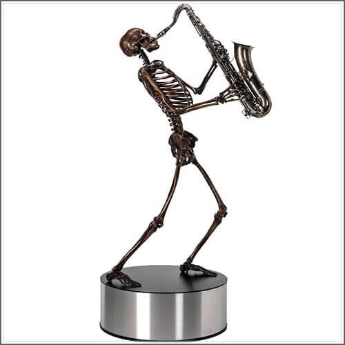 Life Size Bronze Skeletons by Björn Sjöling (2)