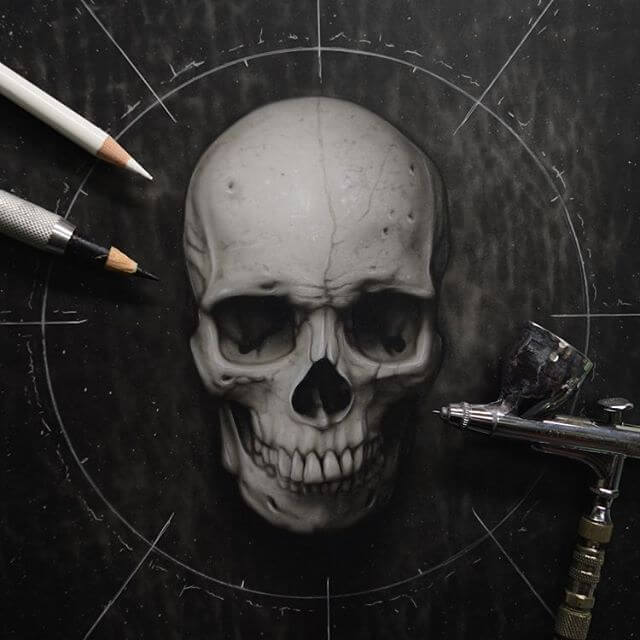 Skull Art by Jay Ferguson (2)