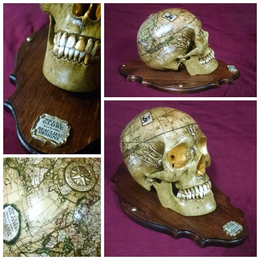 Skull Globes by Beaulieu Designs (2)