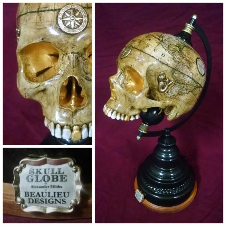 Skull Globes by Beaulieu Designs