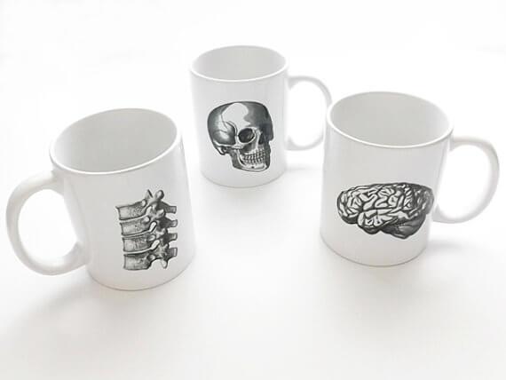art altered mugs