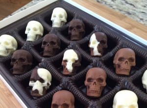Chocolate Skulls by Sweet Sage