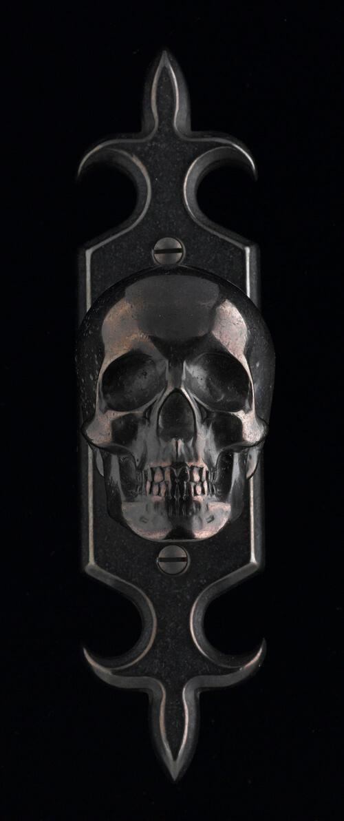 Skull Door Knob by Faucetto (2)