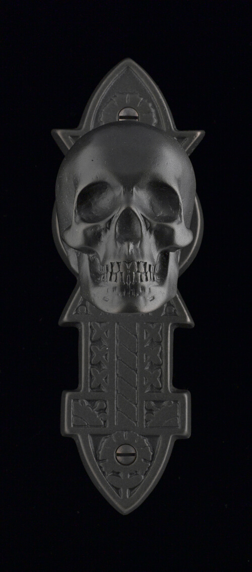 Skull Door Knob by Faucetto