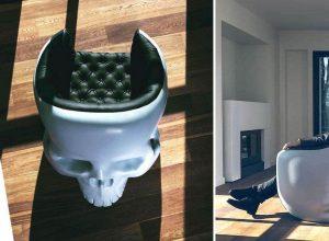 Giant Skull Armchair
