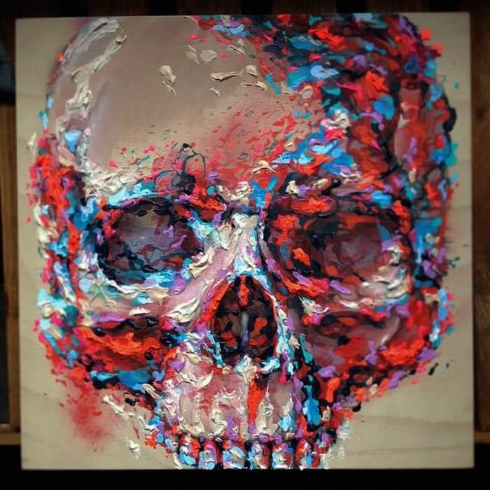 Skull artwork by Steve Locatelli (2)