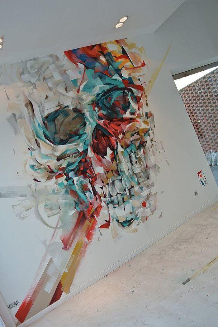 Skull mural by Steve Locatelli (2)