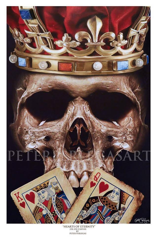 Skull Paintings by Peter Perlegas (2)