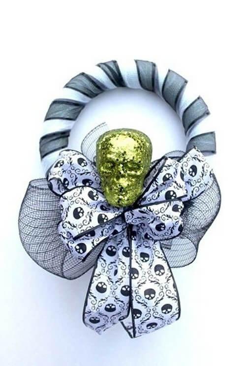 halloween-green-skull-wreath