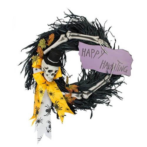 halloween-skull-wreaths
