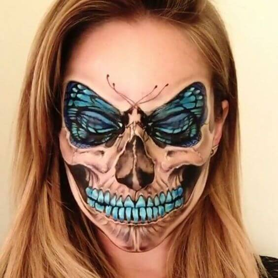 butterfly-skull-makeup