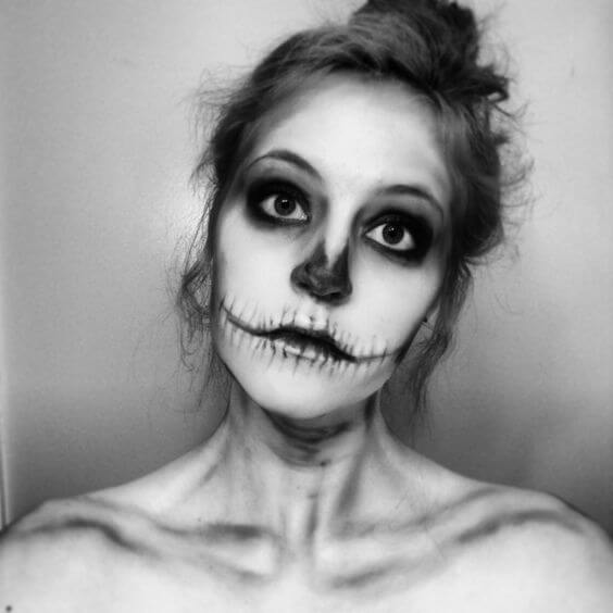 skull-makeup-for-halloween
