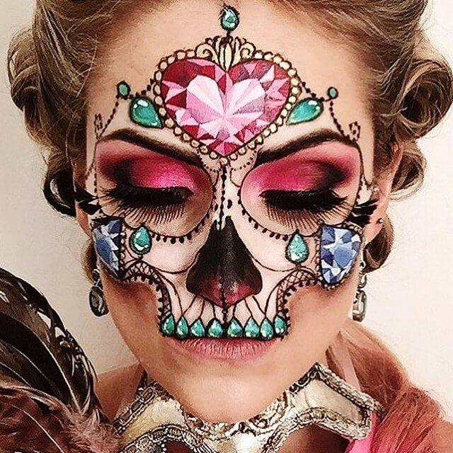 Masquerade Jewel Skull