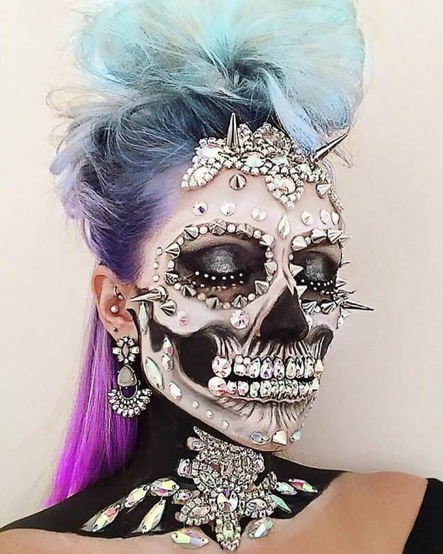 Opulent Punk Skull2