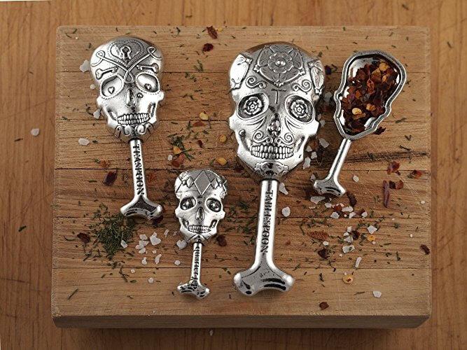 Calavera Measuring Spoons